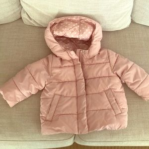 Down filled toddler jacket